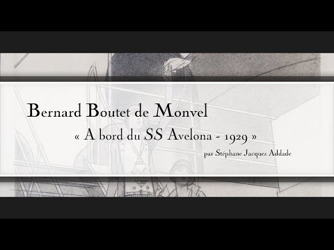 Bernard Boutet de Monvel - À bord du SS Avelona - 1929