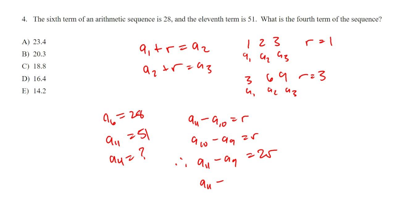 SAT 2 Math 2 Practice Test Question 4