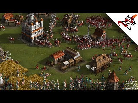Cossacks 3 - 3vs2 ATTACK TOGETHER | Multiplayer Gameplay