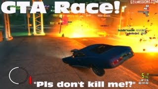 GTA EFLC - PC - 5/23/13 - GTA Race w/American Classics - BEGGING FOR MY LIFE!!