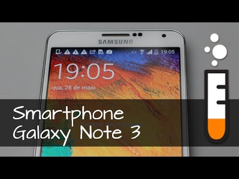 Galaxy Note 3 N9005 Samsung Smartphone - Vídeo Resenha Brasil