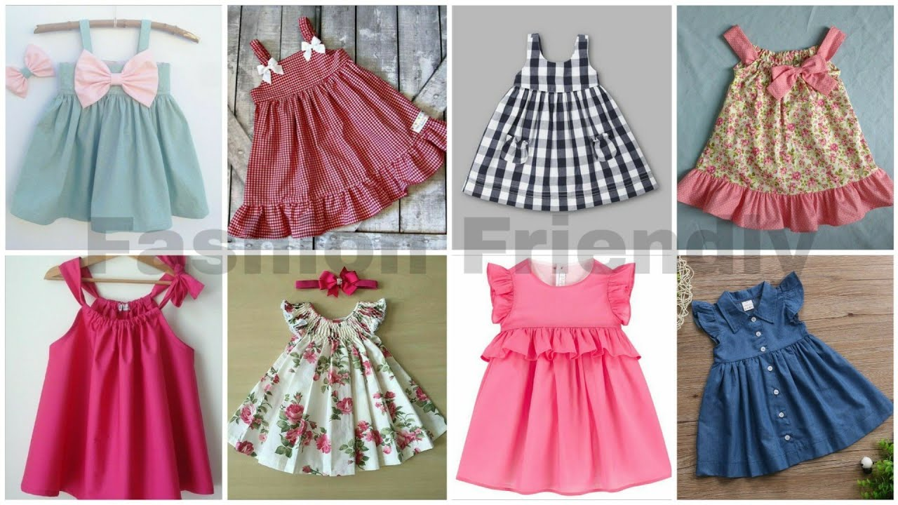 Baby frock designs and jhabla designs  cotton frock designs for baby girl  - Fashion Friendly
