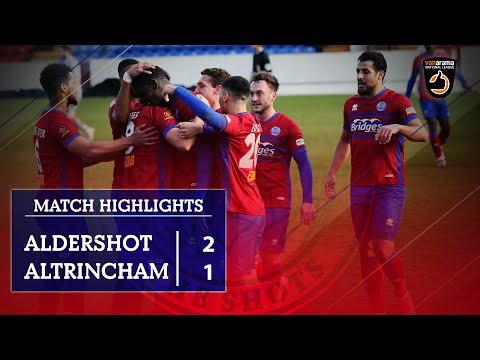 Aldershot Altrincham Goals And Highlights