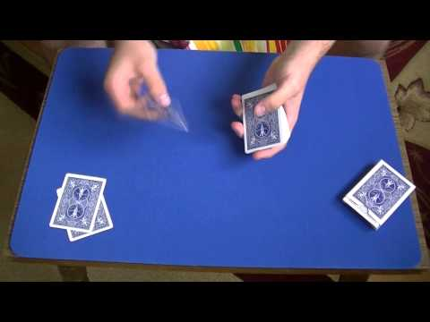 Did You Blink Amazing Card Trick Performance Tutorial