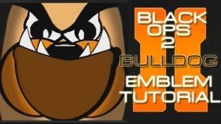 Black Ops 2 BULLDOG Emblem Tutorial