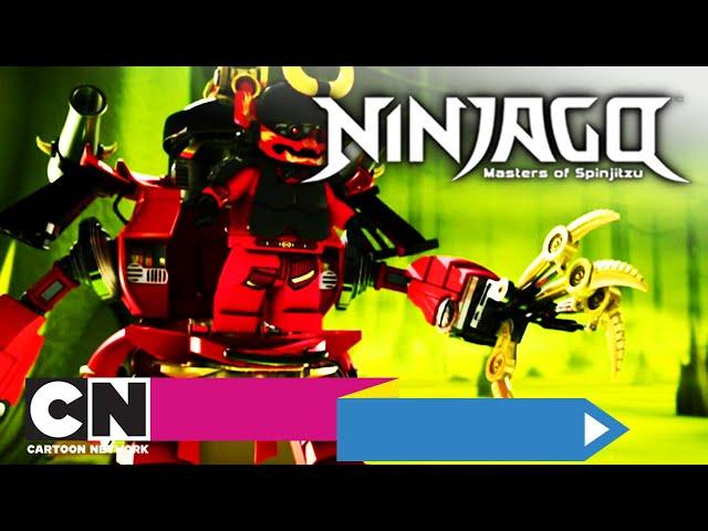 LEGO Ninjago | 5. Een blik wormen (volledige aflevering) | Cartoon Network