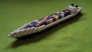 """Tutorial"" Building Lego Container Ship"