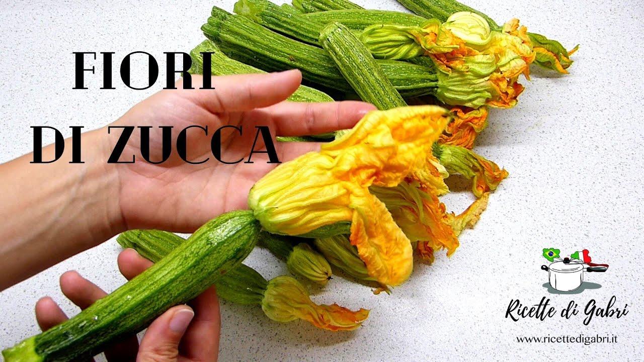 FIORI DI ZUCCA RICETTA Facilissima, economica e DELIZIOSA! Riciclare gli albumi - RICETTE DI GABRI