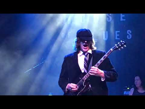 Back in Black ACDC Tribute Band House of Blues 2018