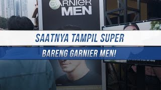 Saatnya TAMPIL SUPER Bareng Garnier Men Power White Super Duo Foam!
