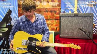 Fender George Benson GB Hot Rod Deluxe Amp demo - Damon @ Nevada Music UK