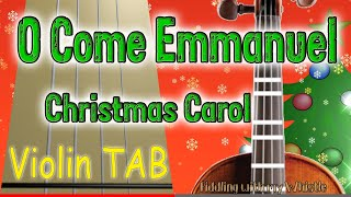 O come, O Come Emmanuel - The Piano Guys - Violin Cover - Tab Tutorial