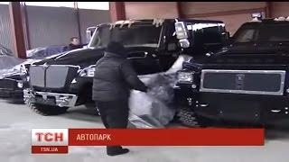 Repeat youtube video Euromaidan - Yanukovych exclusive car collection discovered near Kiev Ukraine