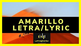 💛🏅AMARILLO - J Balvin (Letra/Lyrics)