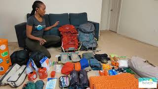 How I Pack mỳ Camping Gear into my Osprey Backpack   Backpacking Essentials