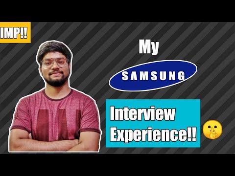 Samsung Interview Experience   Feb 2020   HBTU   Hindi