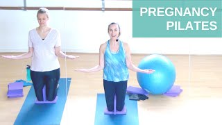 Pregnancy Pilates Workout for All Trimesters | MIDWIFE APPROVED Prenatal Exercise | Jane Wake