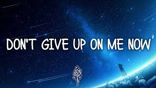 Gambar cover R3HAB & Julie Bergan - Don't Give Up On Me Now (Lyrics)