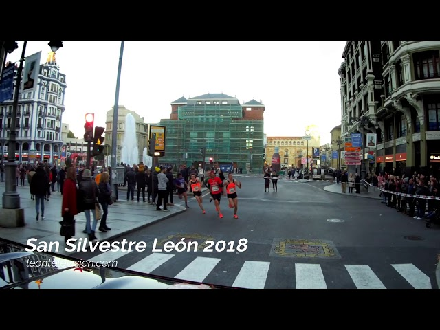 Recorrido San Silvestre León 2018
