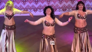 Hayat Dance☀Raks Sharki Belly Dance FINAL Small Group Senhorita ☀Ukraine Oryantal Dans Championship