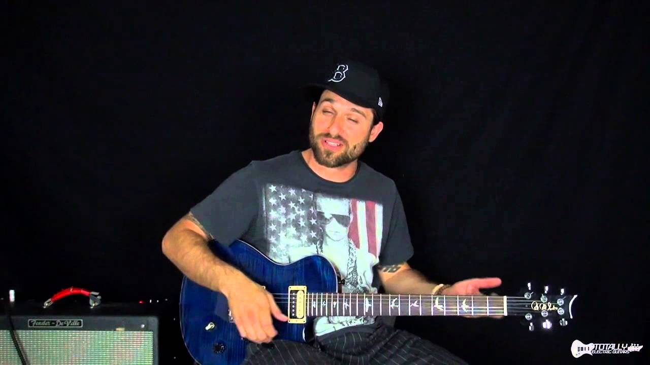 Part Time Lover Electric Guitar Lesson Preview Youtube