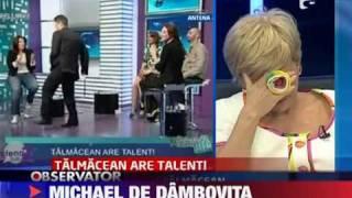Politicienii au talent - Edmond Talmacean, fantoma lui Michael Jackson
