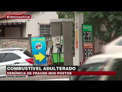 Mais de dois mil postos vendem combustível adulterado