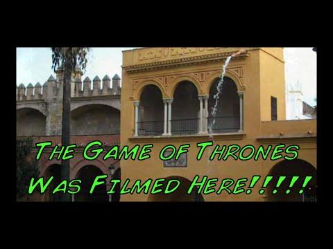 Visit Real Alcazar - Seville  - Spain (Game of Thrones was filmed here!!)
