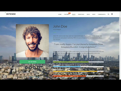 Multipurpose HTML5 Website Templates. Working With Videos