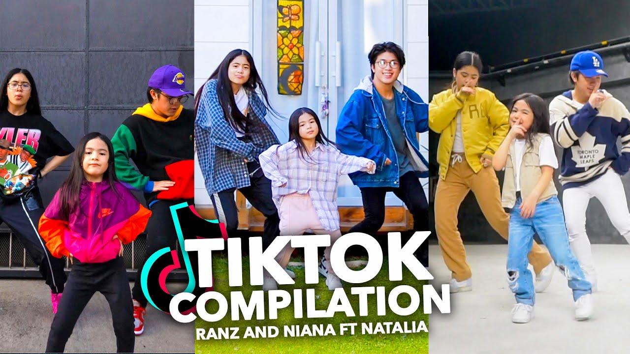 Siblings TikTok DANCE Compilation! (Latest) | Ranz and Niana ft natalia