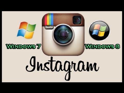 descargar instagram para pc gratis en español para windows 7