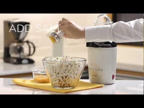VerasuTV: วิธีทำป๊อปคอร์นด้วยเครื่องทำป๊อปคอร์น/ Popcorn Maker