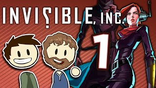 Invisible Inc. - #1 - With Game Designer Geoffrey Card!