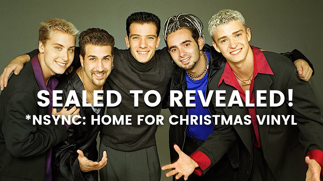 NSYNC sealed to revealed Home For Christmas vinyl - YouTube