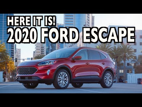 See It Here First: All-New 2020 Ford Escape on Everyman Driver