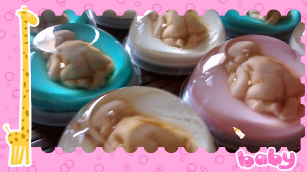 Beb s de gelatina para baby shower youtube - Moldes para gelatina ...