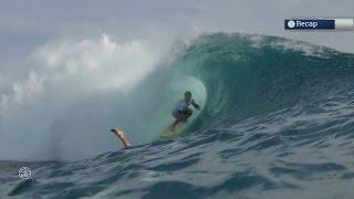 Billabong Pro Tahiti : Florès déchu à Teahupo'o, Wilkinson leader en sursis