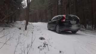 Video HONDA CR-V 2.0 AWD fail? snow test, engine i-VTEC R20A9, Continental WinterContact TS850P download MP3, 3GP, MP4, WEBM, AVI, FLV Agustus 2018