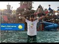 ATLANTIS WATERPARK! Giant water slides and kids swimming! Vlog for kids