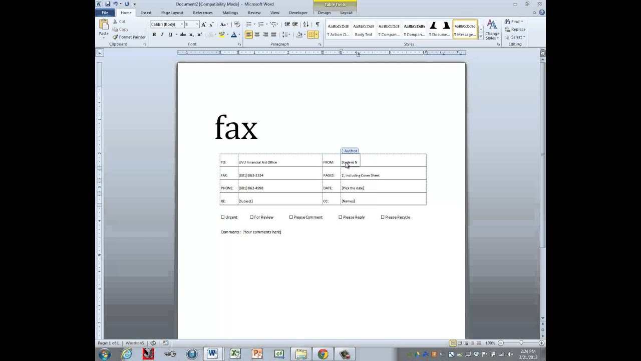 fax coversheet template fax coversheet template