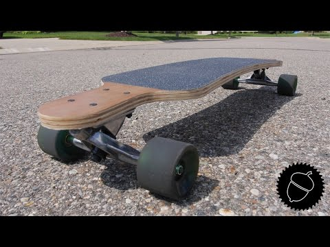 How To Make A Longboard | The Easiest Way Possible!