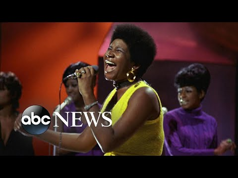 Frankie Darcell - Aretha Franklin never before seen Amazing Grace footage