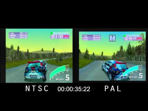 PAL vs. NTSC! - Colin McRae Rally 2.0 (PSX)