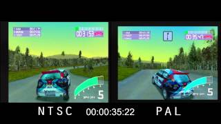 PAL vs. NTSC! - Colin McRae Rally 2.0 (PSX)
