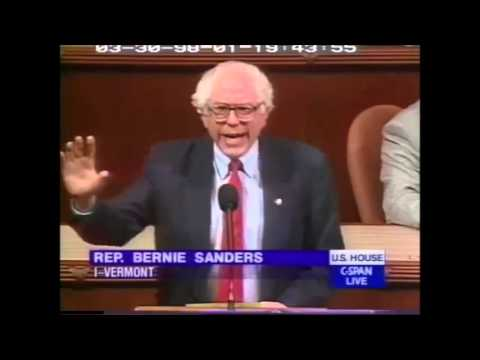 Bernie Sanders on Campaign Finance Reform 12 Years Before Citizens United