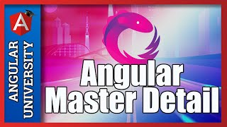 💥 Angular Master Detail UI Pattern - The Master Table