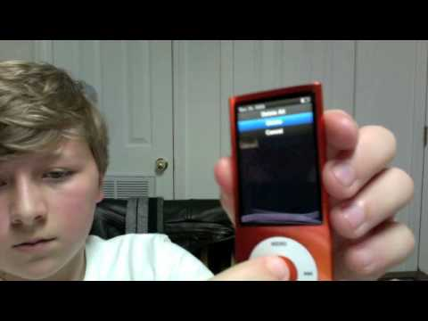 How To Delete an iPod Nano Video
