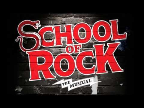 School of Rock - Here at Horace Green - Backing Track DEMO - KARAOKE