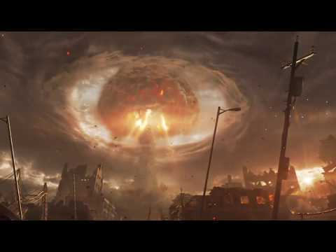 Atomexplosion Mit Fuchs (Ohne Reden