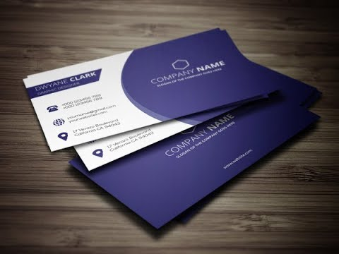 clean business card design illustrator cs6 tutorial youtube